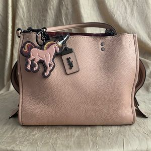 Coach Rogue 30 in Nude Pink